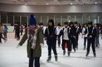 真冬のスケート講習会②